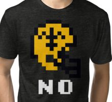 Tecmo Bowl New Orleans Saints Football 8-Bit NES Nintendo Helmet Shirt T-shirt Tri-blend T-Shirt