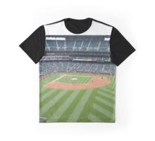Baseball Diamond Graphic T-Shirt