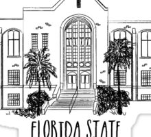 Florida State University William Johnston Building Sticker