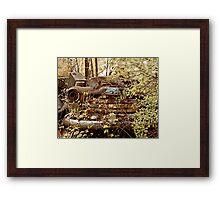 Abandoned GMC Pickup Framed Print