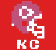 Tecmo Bowl Kansas City Chiefs Football 8-Bit NES Nintendo Helmet Shirt T-shirt One Piece - Short Sleeve