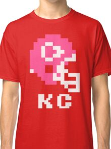 Tecmo Bowl Kansas City Chiefs Football 8-Bit NES Nintendo Helmet Shirt T-shirt Classic T-Shirt