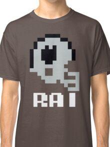 Tecmo Bowl Oakland Raiders Football 8-Bit NES Nintendo Helmet Shirt T-shirt Classic T-Shirt
