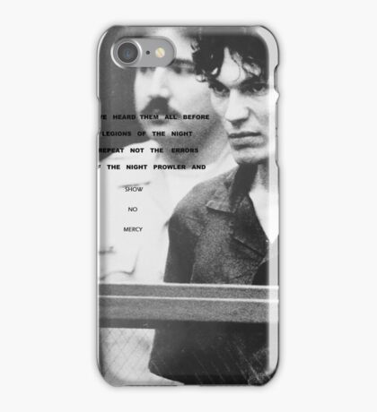 Richard Ramirez - Legions of the Night iPhone Case/Skin