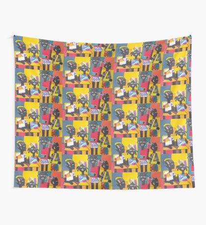 AFRICAN CHILDREN Wall Tapestry