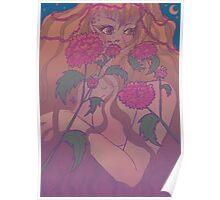 Garden of Carnations Poster