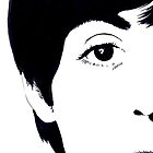 Paul McCartney Monochrome Illustration by sianbrierley