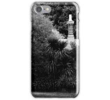 Garden in Balck & White iPhone Case/Skin