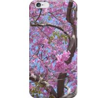 Pink Spring Blossoms iPhone Case/Skin