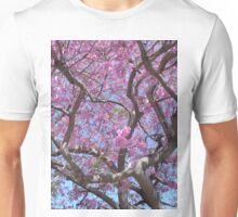 Pink Spring Blossoms Unisex T-Shirt