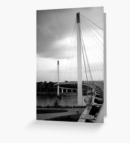 Bob Kerry Pedestrian Bridge Greeting Card