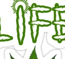 High Life Weed/Cannabis/Ganja Art Sticker