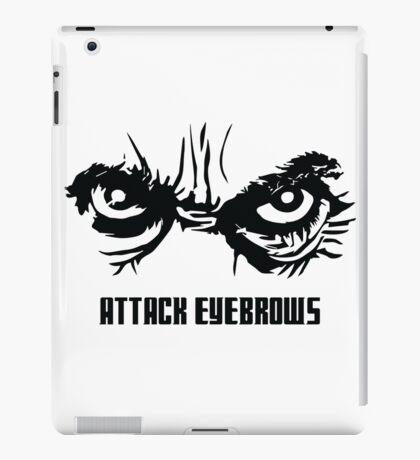Attack Eyebrows iPad Case/Skin