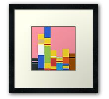 Simpsons Palette Framed Print