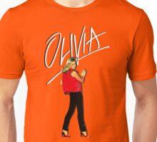 OLIVIA NEWTON-JOHN - 70's Totally Hot Unisex T-Shirt
