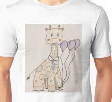 Party Giraffe Unisex T-Shirt