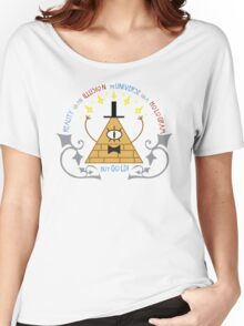 Bill Cipher -- Art Nouveau Women's Relaxed Fit T-Shirt