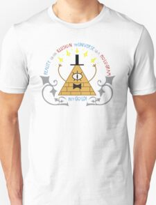 Bill Cipher -- Art Nouveau Unisex T-Shirt