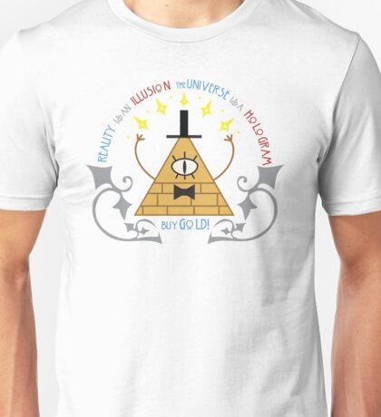 Bill Cipher -- Art Nouveau Unisex T-Shirt