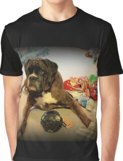Is That Another Christmas Present For Me ?  - Boxer Dogs Series Graphic T-Shirt