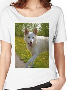 Playful Pup Women's Relaxed Fit T-Shirt