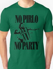 no pirlo no party new style  Unisex T-Shirt