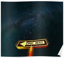 One Way to the Milky Way Poster