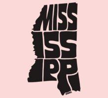 Mississippi Kids Tee