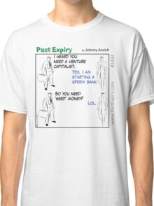 Cartoon : Sperm Bank Classic T-Shirt