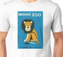 Polish Zoo Lion Matchbox Label Unisex T-Shirt