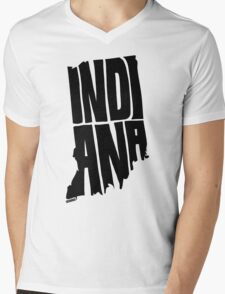 Indiana Mens V-Neck T-Shirt