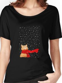 snow cat Women's Relaxed Fit T-Shirt