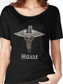 House M.D. - Snakes on a Cane Women's Relaxed Fit T-Shirt