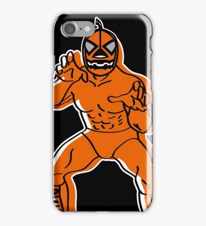 Jack-o'-Lantern LUCHADOR iPhone Case/Skin