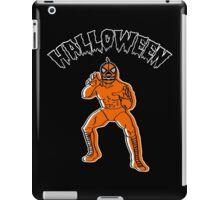 Jack-o'-Lantern LUCHADOR iPad Case/Skin