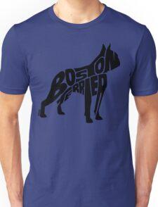 Boston Terrier Black Unisex T-Shirt
