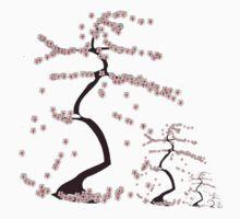 Cherry Blossom One Piece - Short Sleeve