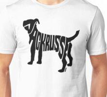 Jack Russel Black Unisex T-Shirt