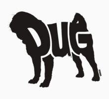 Pug Black Kids Clothes