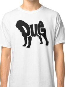 Pug Black Classic T-Shirt