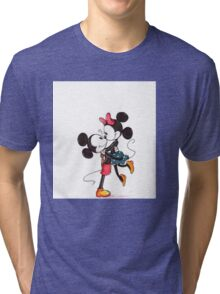 mickey mouse Tri-blend T-Shirt