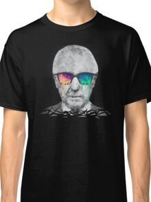 Albert Hofmann - Psychedelic Polygon Crystalised Portrait Classic T-Shirt