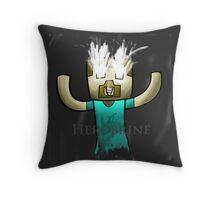 Minecraft Herobrine :) Throw Pillow