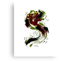 Alphabet S Painting Canvas Print