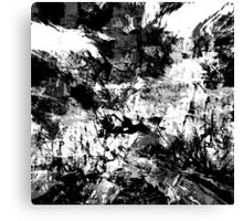 abstract  10-16bw Canvas Print