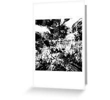 abstract  10-16bw Greeting Card