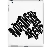 Northern Ireland Black iPad Case/Skin