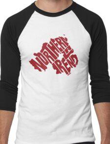 Northern Ireland Red Men's Baseball ¾ T-Shirt