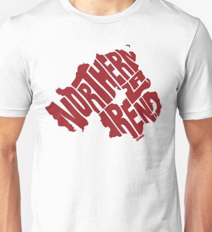 Northern Ireland Red Unisex T-Shirt