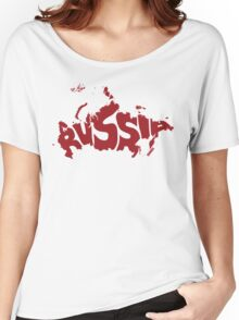 Russia Red Women's Relaxed Fit T-Shirt